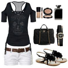 Rocker summer outfit