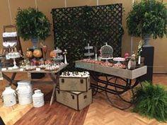 Nuestra mesa de dulce vintage que realizamos para una primera comunión, en tonos rosa, menta y blanco. Cotizaciones: info@ohlala-eventos.com