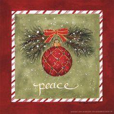 Holiday Peace  8 x 8