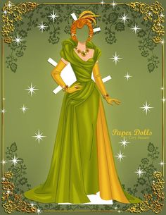 lady tremaine | paper dolls by cory