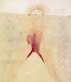 Auguste cut desire erotic image rodin watercolors