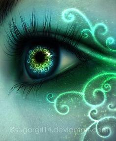 Green Eyes   Magic g