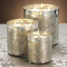 Diamond Cut Scented Candle Jar