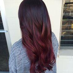 Dark Red Hair Color-koyu kırmızı ve kızıl saç renkleri (5)