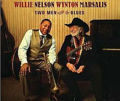 """Recorded on January 12 & 13, 2007, """"Two Men with the Blues"""" is a live album by multiple Grammy Award winners Willie Nelson and Wynton Marsalis. TODAY in LA COLLECTION on RVJ >> http://go.rvj.pm/6ew"""