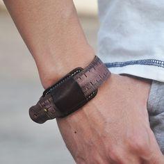 Aliexpress.com: Buy Fashion Mens Snap Button Jewelry Bracelets & Cuff Bracelets, Punk Genuine Leather Mens Wrap Bracelet Wrap Bracelet Love Leather Bracelet Reliable suppliers at Coostuff Unique Store
