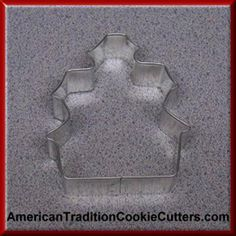 This is a 3.5 inch Haunted House Cookie Cutter. It is 1 inch high.  It is made in the USA. All cookie cutters are $0.90 each.