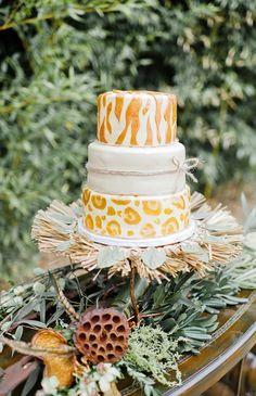 African safari themed cake. Croissants Bistro  Bakery.