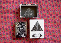The SPIRIT SPEAK Tarot Deck are hand drawn by Mary Elizabeth Evans in Oakland, CA. Each deck is illustrated in black and white and comes with a guidebook that describes each drawing as well. The image