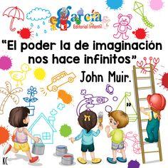 Crear situaciones en donde nuestros pequeños puedan desarrollar su #imaginación, ayudará a impulsar su pensamiento creativo. #LaFrasedelDía