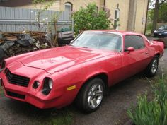 #5 - 1979 Chevy Camero. You better believe I loved this car. 350 motor, 4 barrel Holley Carb with a  350 turbo tranny! I put an after market sunroof in it along with... you guessed it, an Alpine stereo, EQ & 5 speakers! I would drive around listening to Roxcette & AC/DC