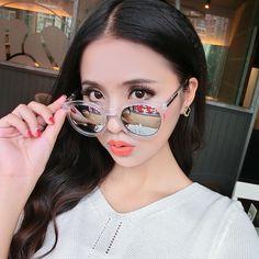 Vazrobe Myopia Sunglasses Women Round Mirrored -1.0/-1.5/-2.0/-2.5/-3.0/-3.5/-4.0 with Degree Sun Glasses for Female Grade Point #Affiliate
