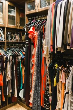 Bedroom closet organize on pinterest closets wardrobe - How to organize clothes without a closet ...