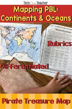 Become a pirate! Cross every continent and ocean to bury your treasure! This elementary Project Based Learning (PBL) activity assess your students' knowledge of continents, oceans, and mapping skills in your Social Studies classroom! In this continents a Pirate Activities, Ocean Activities, Spring Activities, Language Activities, Classroom Activities, Christmas Activities, Classroom Ideas, Social Studies Lesson Plans, 4th Grade Social Studies