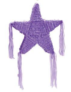 "Purple Star 19"" Pinata"