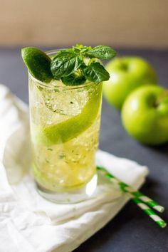 Mojito de manzana