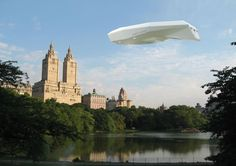 Luxury airships and Zeppelins: designs of flying hotels and houses currently possible using gas technology