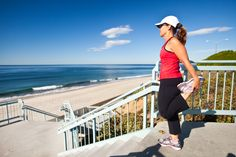 Running in Carlsbad, California