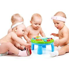 HANMUN Musical Learning Table Baby Toy