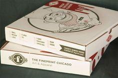 Amazingly creative T-shirt packaging - T-Shirt Factory Shirt Packaging, Packaging Design, Product Packaging, Pizza Box Design, Sandwich Packaging, Food Packaging, Pizza Project, Creative Pizza, Pizza Branding