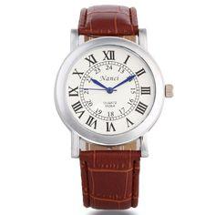 Fashion Elegant Leather Watch Fossil Watches For Men, Cheap Watches, Mens Watches Leather, Waterproof Watch, Seiko Watches, Mechanical Watch, Watches Online, Vintage Watches, Quartz Watch