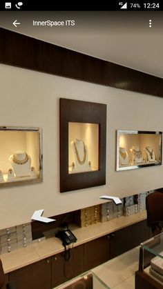 Jewellery Shops, Jewellery Showroom, Jewellery Displays, Jewelry Stores,  Jewelry Store Design,
