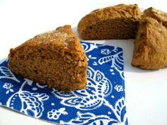 Ginger Scones - The Kitchen Magpie #recipes #scones