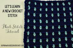 Block Stitch ~ free pattern ᛡ