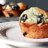 Blueberry Muffins - Die gibt es wohl dieses Pfingstwochenende :D