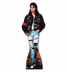 Michael Jackson Life Size Standup Standee Cardboard Cutout Poster License Plates - http://www.michael-jackson-memorabilia.com/?p=12775