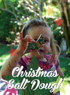 Christmas salt dough ornaments