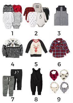 Baby Boy Outfits |  Your guide to baby's first CAPSULE WARDROBE