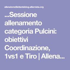 ...Sessione allenamento categoria Pulcini: obiettivi Coordinazione, 1vs1 e Tiro | Allenatore Dilettante