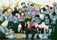 Boku no Hero Academia My Hero Academia Tsuyu, My Hero Academia Shouto, My Hero Academia Episodes, Hero Academia Characters, Anime Characters, Dark Fantasy, Bakugou And Uraraka, Boko No, Kawaii