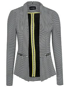 Stripe Blazer - I ha