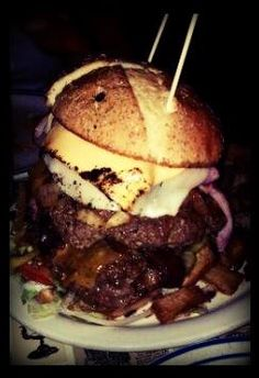 The Thurmanator at the Thurman Cafe in Columbus, Ohio