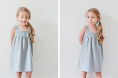 Jersey dress tutorial. Super easy!!!! Just needs one yard of jersey. Demi will live in these this summer :)