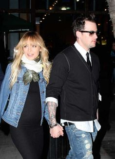 Nicole Ritchie and Joel Madden