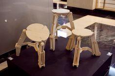 Robo Stool - Chunk Design