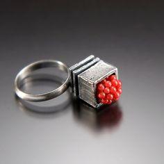 Juicy Ring by  AleksandraVALI , via Etsy.