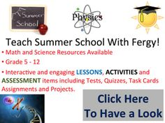 Use tried and tested lessons that work and focus your time on teaching, not preparing during the summer. Available for grades 5-12 across the sciences and maths.  New this year is my collection of unique Task Card Activities, check them out here.