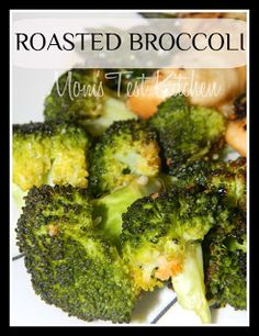 Mom's Test Kitchen: Roasted Broccoli