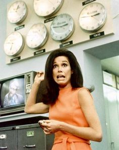 mary richards -- i think this pic sort of sums up how i felt working in a newsroom.