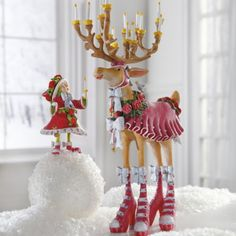 Patience Brewster Donna Dash Away Reindeer and Elf