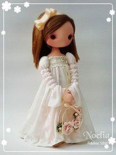 Photo                                                       … Child Doll, Girl Dolls, Baby Dolls, Kawaii Doll, Polymer Clay Dolls, Waldorf Dolls, Soft Dolls, Diy Doll, Cute Dolls