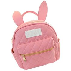 Amazon.com: Pusheng Bunny Ears Backpack Wonderland Rabbit Pastel Cute... ($23) ❤ liked on Polyvore featuring bags, backpacks, red backpack, red bag, pink rucksack, backpacks bags and rucksack bag