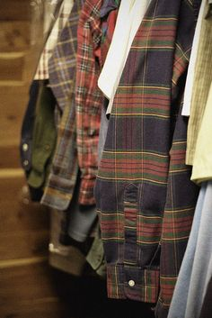 Wonders of a Wannabee Wanderer. - I have a soft spot for men's plaid shirts. ~ Di.
