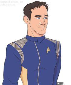 Автор: Lucy Starfleet Academy, Jason Isaacs, Star Trek Universe, Fan Art, Stars, Artist, Drawings, Artists, Sterne
