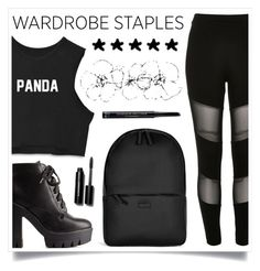 """""""She's Cool"""" by racanoki ❤ liked on Polyvore featuring River Island, Charlotte Russe, Rains, Bobbi Brown Cosmetics, Christian Dior, Leggings, contestentry, WardrobeStaples and RaCaNoKi"""