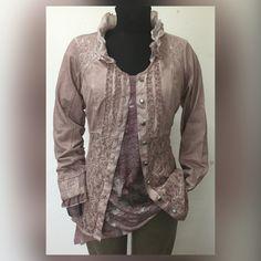 New Romantic Blazer Blouse